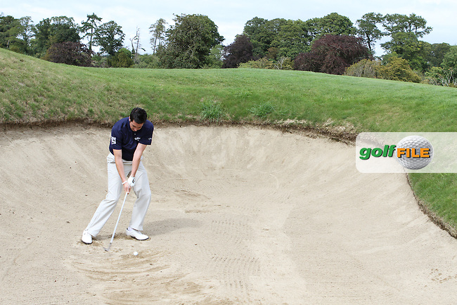 Dan Frost PGA Professional at Carton House Golf Club, Manooth, Co Kildare Ireland.6/8/11.Day 2 Feature 3.Picture Jenny Matthews www.golffile.ie
