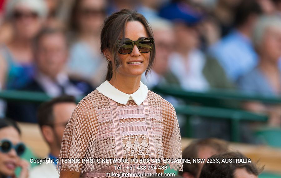 AMBIENCE,  PIPPA MIDDLETON<br /> <br /> TENNIS - THE CHAMPIONSHIPS - WIMBLEDON- ALL ENGLAND LAWN TENNIS AND CROQUET CLUB - ATP - WTA -ITF - WIMBLEDON-SW19, LONDON, GREAT  BRITAIN- 2017  <br /> <br /> <br /> &copy; TENNIS PHOTO NETWORK