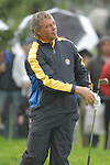 Ryder Cup 206 K Club, Straffan, Ireland..European Ryder Cup team player Darren Clarke on the 1st fairway during  the  morning fourballs session of the second day of the 2006 Ryder Cup at the K Club in Straffan, Co Kildare, in the Republic of Ireland, 23 September 2006...Photo: Eoin Clarke/ Newsfile.