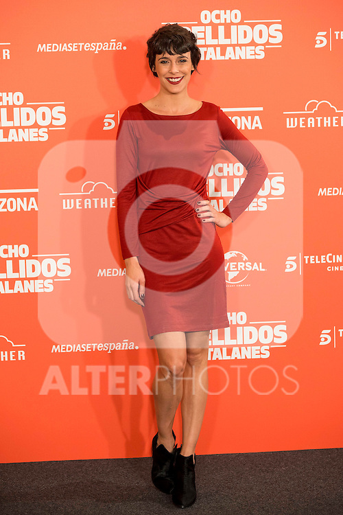"Spanish actress Belen Cuesta during the presentation of the film ""Ocho Apellidos Catalanes"" in Madrid, November 17, 2015.<br /> (ALTERPHOTOS/BorjaB.Hojas)"