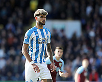 Huddersfield Town's Philip Billing<br /> <br /> Photographer Rich Linley/CameraSport<br /> <br /> The Premier League - Burnley v Huddersfield Town - Saturday 6th October 2018 - Turf Moor - Burnley<br /> <br /> World Copyright &copy; 2018 CameraSport. All rights reserved. 43 Linden Ave. Countesthorpe. Leicester. England. LE8 5PG - Tel: +44 (0) 116 277 4147 - admin@camerasport.com - www.camerasport.com