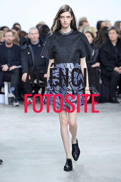 Nova Iorque, EUA &ndash; 02/2014 - Desfile de Proenza Schouler durante a Semana de moda de Nova Iorque - Inverno 2014. <br /> Foto: FOTOSITE