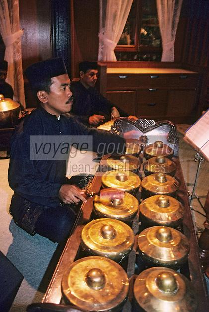Asie/Malaisie/Kuala Lumpur: Spectacle - Musiciens et fête de mariage