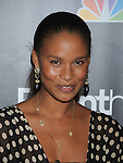 "WEST HOLLYWOOD, CA. - February 22: Joy Bryant attends the Los Angeles premiere of ""Parenthood"" at the Directors Guild Theatre on February 22, 2010 in West Hollywood, California."