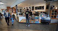 March 20, 2019. San Diego, CA. USA|  Bird Rock Coffee Roasters located in Pacific Beach. | Photos by Jamie Scott Lytle. Copyright.