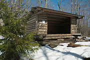 Ore Hill Shelter was an Adirondack-style shelter located along the Appalachian Trail (Ore Hill Trail) in Warren, New Hampshire USA. This shelter was burned down by arsonists in October 2011.