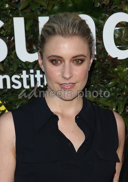 02  June 2015 - Culver City, Greta Gerwig. 2015 Sundance Institute Celebration Benefit Held at 3LABS. Photo Credit: F.Sadou/AdMedia