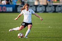 Kansas City, MO - Sunday September 3, 2017: Daphne Corboz during a regular season National Women's Soccer League (NWSL) match between FC Kansas City and Sky Blue FC at Children's Mercy Victory Field.