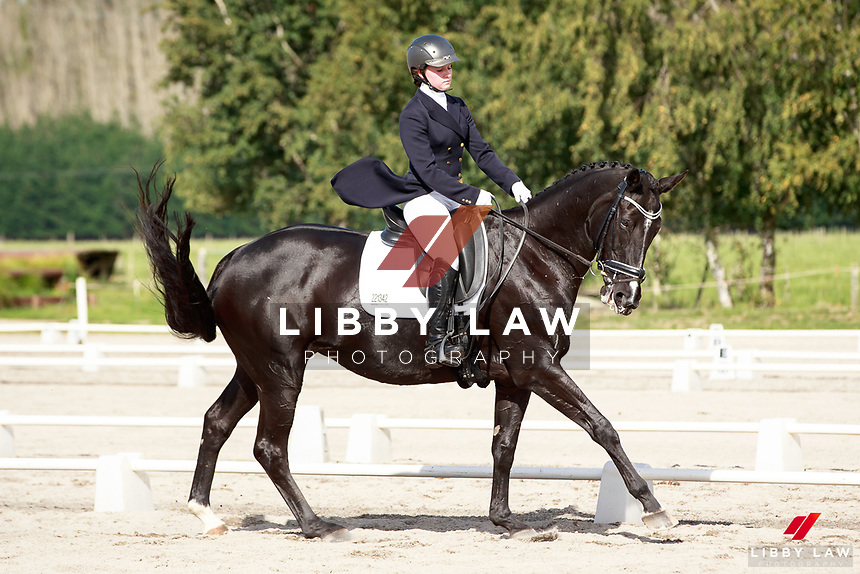 NZL-Emilia Birkholz rides Kiteroa Leila. 2017 NZL-Under 25 Dressage Championships and Para Equestrian National Championships. NEC Taupo. Saturday 1 April. Copyright Photo: Libby Law Photography
