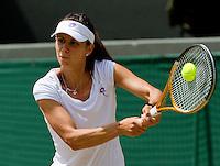 29-06-10, Tennis, England, Wimbledon,  Tsvetana Pinokova