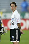 1 August 2003: Maren Meinert of Germany. The Boston Breakers defeated the New York Power 3-2 at Mitchel Field in Uniondale, NY in a regular season WUSA game..Mandatory Credit: Scott Bales/Icon SMI
