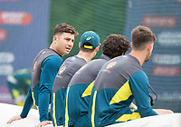 Marcus Stones (Australia) at the far end during a Training Session at Edgbaston Stadium on 10th July 2019