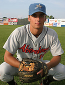 August 16, 2003:  Eric Grimm of the Aberdeen Ironbirds, Class-A affiliate of the Baltimore Orioles, during a game at Falcon Park in Auburn, NY.  Photo by:  Mike Janes/Four Seam Images