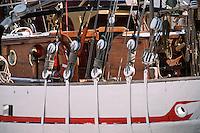 17 Charente Maritime/La Rochelle: Musée maritime détail de bateau