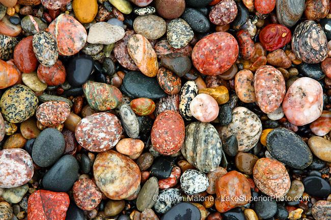Lake Superior Beach Rocks, Pictured Rocks National Lakeshore