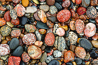 Lake Superior Beach Rocks, Pictured Rocks National Lakeshore