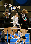 Lewis vs Concordia St Paul Women's DII Volleyball Championship