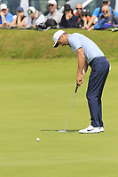 Ross Fisher (ENG) birdie putt on the 4th green during Thursday's Round 1 of the Dubai Duty Free Irish Open 2019, held at Lahinch Golf Club, Lahinch, Ireland. 4th July 2019.<br /> Picture: Eoin Clarke | Golffile<br /> <br /> <br /> All photos usage must carry mandatory copyright credit (© Golffile | Eoin Clarke)