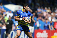 Warrington Wolves' Bryson Goodwin <br /> <br /> Photographer Stephen White/CameraSport<br /> <br /> Rugby League - Coral Challenge Cup Sixth Round - Warrington Wolves v Wigan Warriors - Sunday 12th May 2019 - Halliwell Jones Stadium - Warrington<br /> <br /> World Copyright © 2019 CameraSport. All rights reserved. 43 Linden Ave. Countesthorpe. Leicester. England. LE8 5PG - Tel: +44 (0) 116 277 4147 - admin@camerasport.com - www.camerasport.com