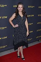 """LOS ANGELES - AUG 15:  Lauren White at the """"Low Low"""" Los Angeles Premiere at the ArcLight Hollywood on August 15, 2019 in Los Angeles, CA"""