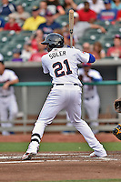 Tennessee Smokies right fielder Jorge Soler #21 awaits a pitch during a game against the Jacksonville Suns at Smokies Park July 10, 2014 in Kodak, Tennessee. The Suns defeated the Smokies 6-5. (Tony Farlow/Four Seam Images)