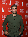 Oscar Isaac attends the 'Hangmen' Opening Night After Party at the The Gallery at the Dream Downtown on February 5, 2018 in New York City.