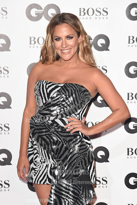 LONDON, UK. September 05, 2018: Caroline Flack at the GQ Men of the Year Awards 2018 at the Tate Modern, London