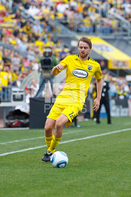24 OCTOBER 2010:  Columbus Crew midfielder/forward Eddie Gaven (12) during MLS soccer game against the Philadelphia Union at Crew Stadium in Columbus, Ohio on August 28, 2010.