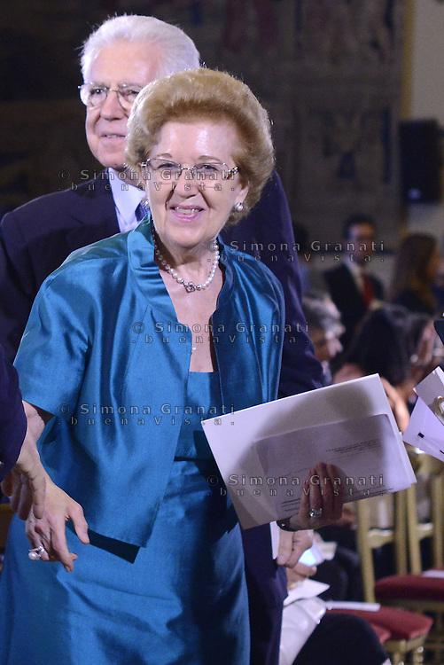 Roma, 7 Luglio 2015<br /> Camera dei Deputati<br /> Mario Monti, Anna Maria Tarantola.<br /> Relazione annuale dell'AGCOM<br /> Autorit&agrave; per le garanzie nelle telecomunicazioni.