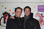 Lorenzo Lamas - B/B - Falcon Crest and starring in Fantasticks at The Jerry Orbach Theater, New York City, New York and poses with Bradford Kenney (Artistic Director of Ogunquit Playhouse in Maine) after (Photo by Sue Coflin/Max Photos)