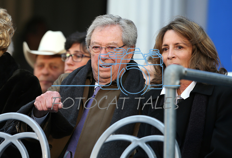Former Nevada Robert List attends Gov. Steve Sisolak's inauguration at the Capitol, in Carson City, Nev., on Monday, Jan. 7, 2019. <br /> Photo by Cathleen Allison/Nevada Momentum