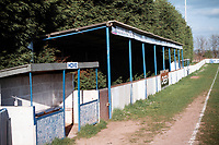General view of Clyst Rovers FC Football Ground, Waterslade Park, Clyst Honiton, Devon, pictured on 30th March 1997