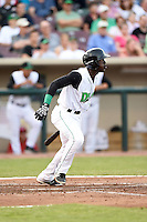Dayton Dragons shortstop Hector Vargas (27) during a game against the South Bend Cubs on May 11, 2016 at Fifth Third Field in Dayton, Ohio.  South Bend defeated Dayton 2-0.  (Mike Janes/Four Seam Images)
