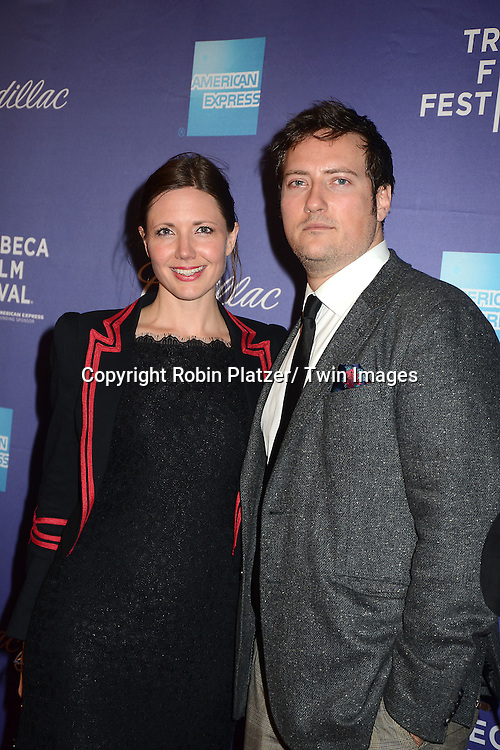 "Natalie Graham and Orlando Wood attend the Tribeca Film Festival World Premiere of "" In God We Trust"" on April 19, 2013 at the SVA Theatre in New York City. The movie is about Eleanor Squallari who was the former secretary of Bernie Madoff."