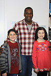 """Rehearsals for Ragtime starring All My Children Norm Lewis """"Keith McLean"""" & now Scandal and Lewis Grosso and Lilla Crawford on February 11, 2013 for a concert at Avery Fisher Hall, New York City, New York on Monday February 18, 2013. (Photo by Sue Coflin/Max Photos)"""