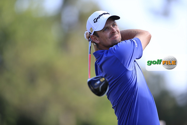 Justin Rose (ENG) during round 1of the Players, TPC Sawgrass, Championship Way, Ponte Vedra Beach, FL 32082, USA. 12/05/2016.<br /> Picture: Golffile | Fran Caffrey<br /> <br /> <br /> All photo usage must carry mandatory copyright credit (&copy; Golffile | Fran Caffrey)
