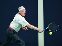 Hilversum, The Netherlands, March 10, 2016,  Tulip Tennis Center, NOVK, Drikus Oosterveld<br /> Photo: Tennisimages/Henk Koster