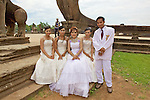 Bridal Party At Angkor Wat