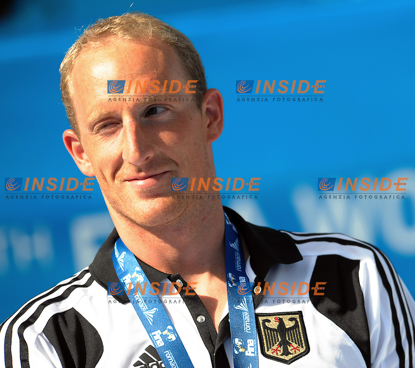 Roma 24th July 2009 - 13th Fina World Championships From 17th to 2nd August 2009.Men's Open Water 10 Km Medal Ceremony.Thomas LURZ (GER) Gold Medal.photo: Roma2009.com/InsideFoto/SeaSee.com .Foto Andrea Staccioli Insidefoto