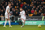 Oliver Norwood of Sheffield Utd and John Lundstram of Sheffield Utd  during the Premier League match at Molineux, Wolverhampton. Picture date: 1st December 2019. Picture credit should read: Simon Bellis/Sportimage