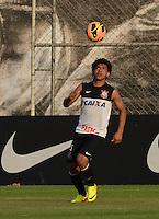 SÃO PAULO,SP, 13.09.2013 TREINO/CORINTHIANS/SP - Romarinho  durante treino do Corinthians no CT Joaquim Grava na zona leste de Sao Paulo. (Foto: Alan Morici /Brazil Photo Press).