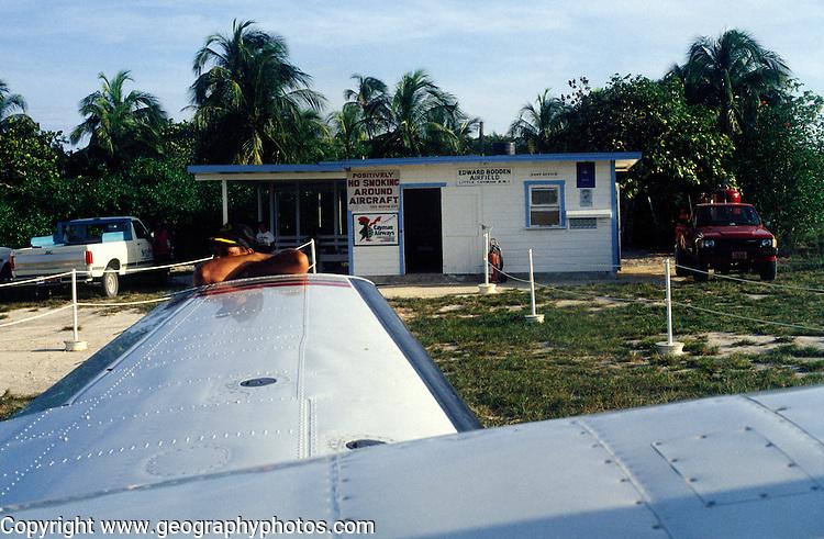 Airport, Little Cayman, Cayman Islands, British West Indies,