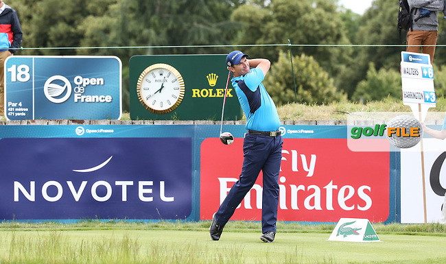 Padraig Harrington (IRL) during the Final Round of the 100th Open de France, played at Le Golf National, Guyancourt, Paris, France. 03/07/2016. Picture: David Lloyd | Golffile.<br /> <br /> All photos usage must carry mandatory copyright credit (&copy; Golffile | David Lloyd)