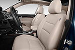Front seat view of a 2015 KIA Sorento EX V6 AT 5 Door Suv 2WD Front Seat car photos