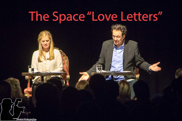 """The Space """"Love Letters"""" by AR Gurney performed  by  Rio headliner magician Penn Jillette and his wife, Emily Jillette"""