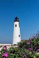 Great Point lighthouse, Nantucket, Massachusetts, USA.