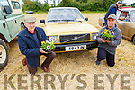 Enjoying a flowery day at the Vintage day in Kilflynn on Sunday.<br /> L to r: Jerome Quirke (Fenit) and Kieran Nolan (Spa)