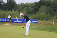 Mathias Schwab (AUT) putts on the 12th green during Saturday's Round 3 of the Porsche European Open 2018 held at Green Eagle Golf Courses, Hamburg Germany. 28th July 2018.<br /> Picture: Eoin Clarke | Golffile<br /> <br /> <br /> All photos usage must carry mandatory copyright credit (&copy; Golffile | Eoin Clarke)
