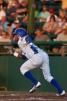 Shortstop Arismendy Alcantara #3 of the Daytona Cubs during the game against the Lakeland Flying Tigers at Jackie Robinson Ballpark on April 28, 2012 in Daytona Beach, Florida. (Scott Jontes/Four Seam Images)