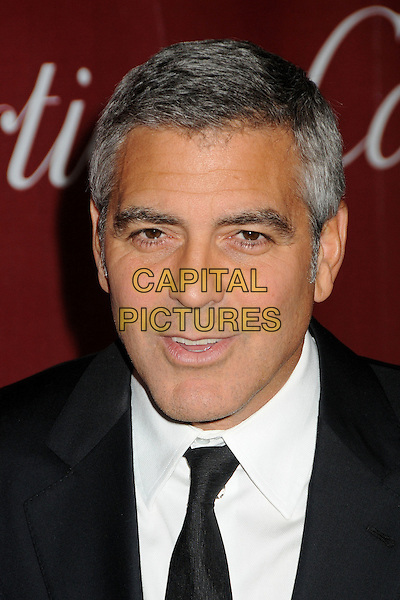 George Clooney.2012 Palm Springs International Film Festival held at the Palm Springs Convention Center, Palm Springs, California, USA, .7th January 2012..arrivals portrait headshot black tie white shirt mouth open funny .CAP/ADM/BP.©Byron Purvis/AdMedia/Capital Pictures.